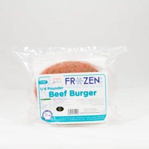 Frozen 4 U 1/4 Pounder Beef