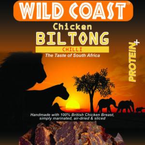 Spicy Chicken Biltong
