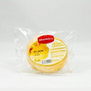 Shazmins Chicken & Mushroom Pie