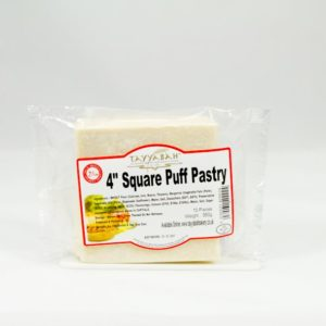 4×4 Puff Pastry Sheet – Square