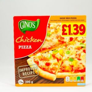 Ginos Chicken Pizza