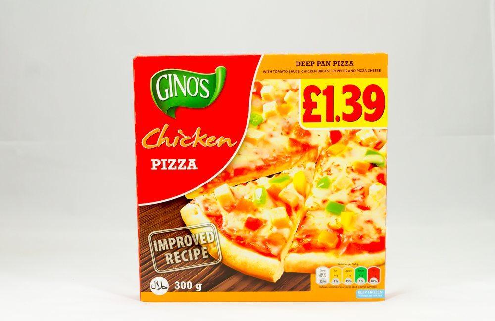 Ginos Chicken Pizza