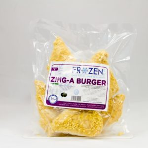 Frozen 4 U Zing-A Burgers