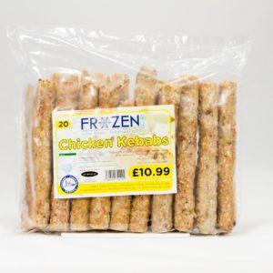 Frozen 4 U Chicken Seekh Kebab