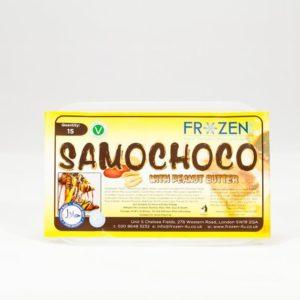 Frozen 4 U Chocolate & Peanut Butter Samosas
