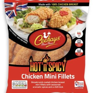 Ceekays Hot'n'Spicy Chicken Mini Fillets