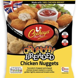 Ceekays Crunchy Breaded Chicken Nuggets