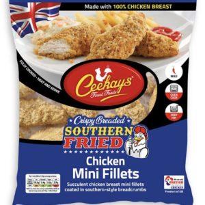 Ceekays Southern Fried Breaded Chicken Mini Fillets