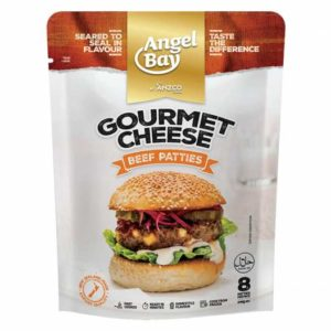 Angel Bay Gourmet Beef & Cheese Patties